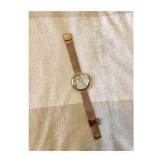 asos Rose Gold Marble Face Watch