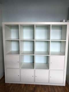 Shelving Unit, Ikea, Kallax - White