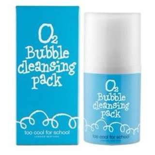 Too Cool for School O2 Bubble Cleansing Pack