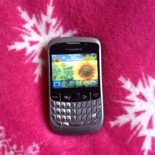 Blackberry Curve Backup phone