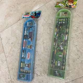 Thomas&Friends / Ben10 Pencil Case Set