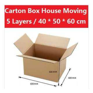 Carton boxes - for storage or moving house
