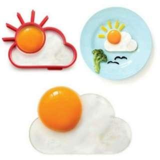 Alat Cetak Telur Omelette silicon bentuk awan matahari - HPD062