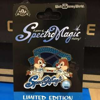 Disney Piece of History Pin - WDW Spectro Magic Parade Chip n Dale