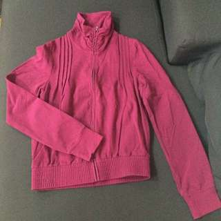 MNG Casual Sportswear Fuschia Jacket (US XS)
