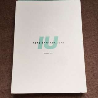 絕版!IU 2012 Real Fantasy Concert Photo Book + Special DVD set
