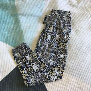 Tigerlily pattern pants