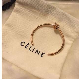 Brand New Celine Knot Bracelet *** Rose Gold Size S