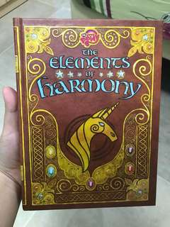 My Little Pony: Friendship is Magic The Elements of Harmony official guidebook