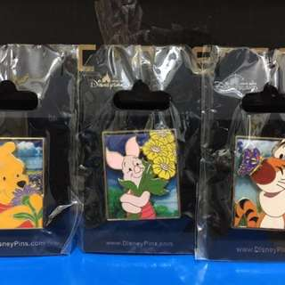 Disney Pin - Pooh , Piglet , Tigger
