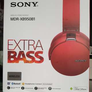 Sony MDR-XB950B1 Wireless Headphone