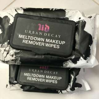 Urban Decay UD Meltdown Makeup Remover Wipes