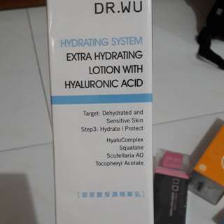 Dr Wu Extra Hydrating Lotion with Hyaluronic Acid