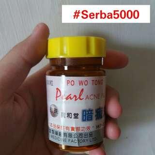 Pearl Acne Pills Obat Cina Penghilang Jerawat