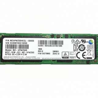 Samsung 960 Evo NVME SSD 250GB (enterprise edition)