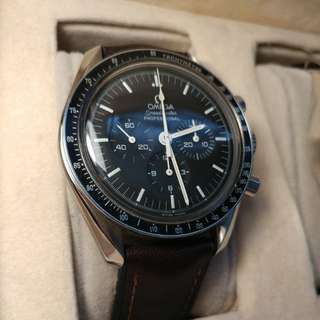 Omega moon watch speedmaster professional w/o original bracelet