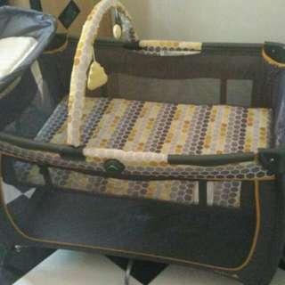 Preloved Baby Box Safety 1st Playard