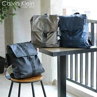 New Backpack Parachute Waterproof CALVIN KLEIN 201#