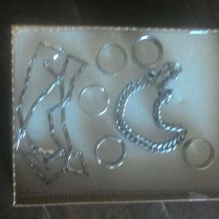 Bundle Stainless ring.necklace,bracelet.all bought abroad.