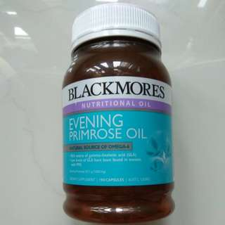 BLACKMORES Evening Primrose Oil (1000mg) 190 capsules x 04 bottles