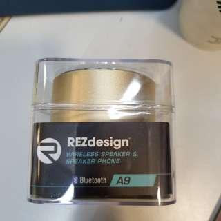 全新 REZdesign Wireless Speaker & Speaker PhoneMP3 TF Card AUX