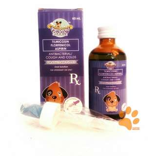Pampered Pooch Antibacrerial/ Cough and Colds