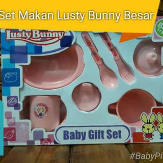 SALE Set Makan Bayi LustyBunny Besar