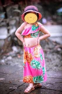 D&G inspired Kids OOTD/Kids dress
