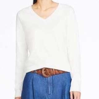 Cotton cashmere knit