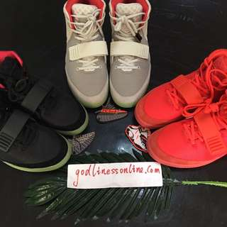 Air yeezy 2 all color