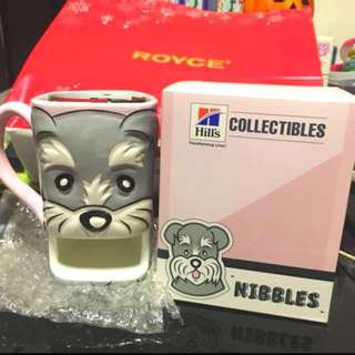 BN Cute Dog Mug With Biscuit Holder