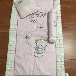Bloom crib beddings for baby girl
