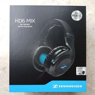 Sennheiser HD6 Mix (Brand New)