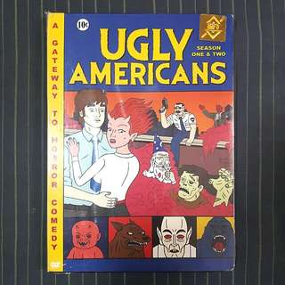 Ugly Americans Season 1 And 2 DVD