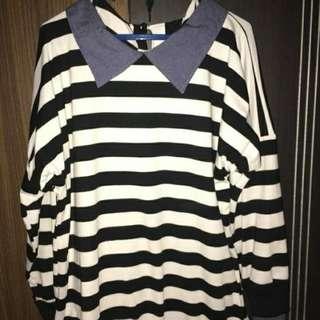 Blue collar stripi