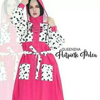 Jas hujan muslimah Sheba Queenzha