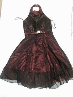 FOR RENT!!! Burgundy/Maroon Cocktail Dress