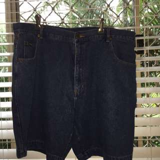 Vintage River Blues Denim Shorts