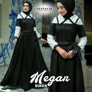 ST - 0218 - Dress Busana Muslim Wanita Megan