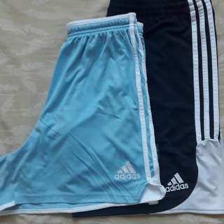Prelove Adidas training shorts bundle