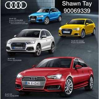 New Audi @ $119999