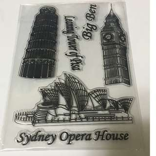 Sydney Clear Stamp