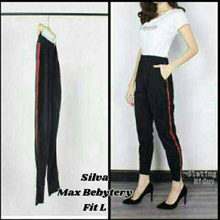 Stripe red pants Ac