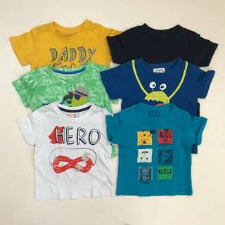 Mothercare shirts 18-24M