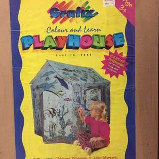 Colour and Learn Play House
