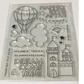 Castle Clear stamp