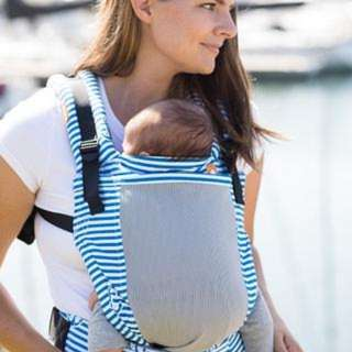 Tula Free to Grow Coast Seaport Mesh Carrier