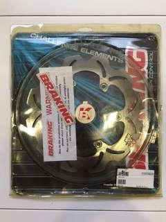 Rear Brake Disc for Yamaha TMAX 2001 - 2016