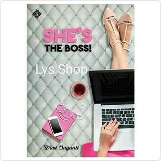 She's The Boss - Wiwi Suyanti TTD