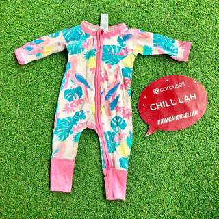Bonds Wondersuit Size 000 0-3 Mths Sleepsuit